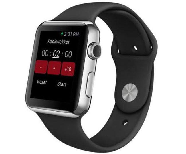 Receptenmaker Apple Watch-app