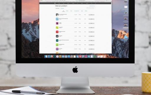 Aankoopgeschiedenis App Store bekijken