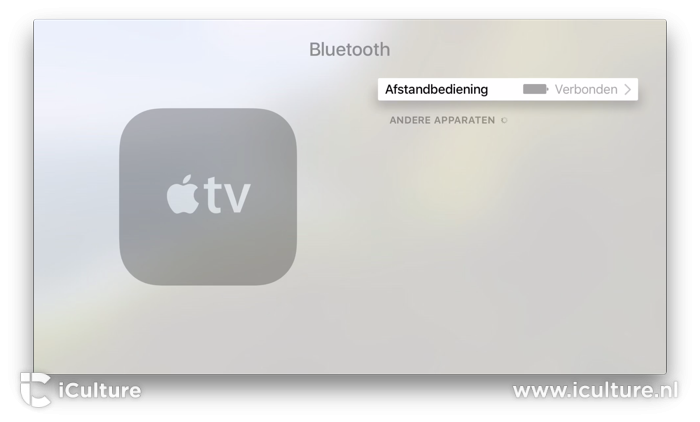 Bluetooth gamecontroller koppelen met Apple TV.