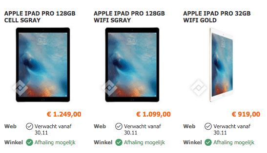 Vanden Borre iPad Pro