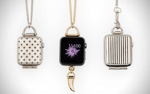Apple Watch als ketting.
