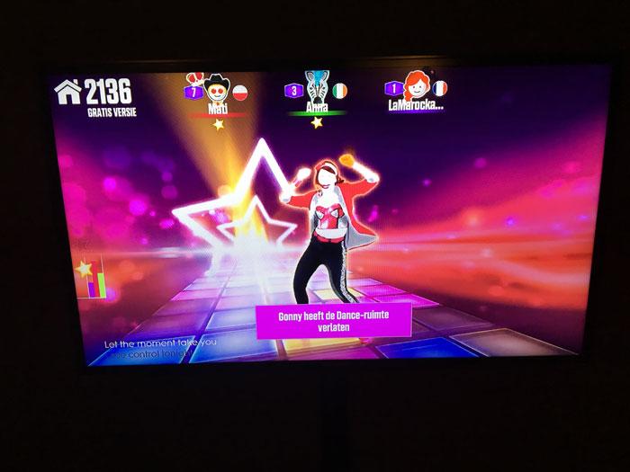Just Dance Now op de televisie dankzij Chromecast