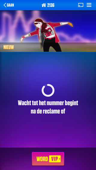Just Dance Now Chromecast-game