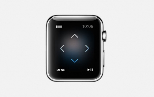 Apple TV remote app via Apple Watch