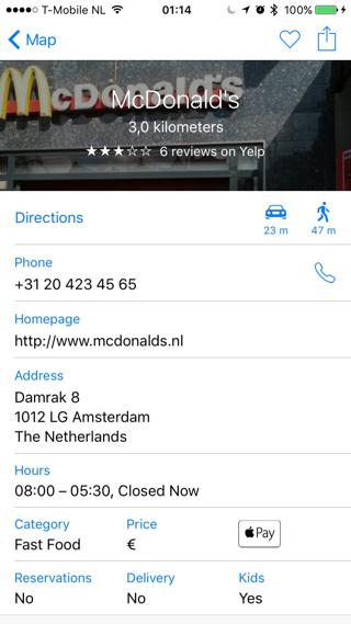 Apple Pay in Nederland bij McDonalds