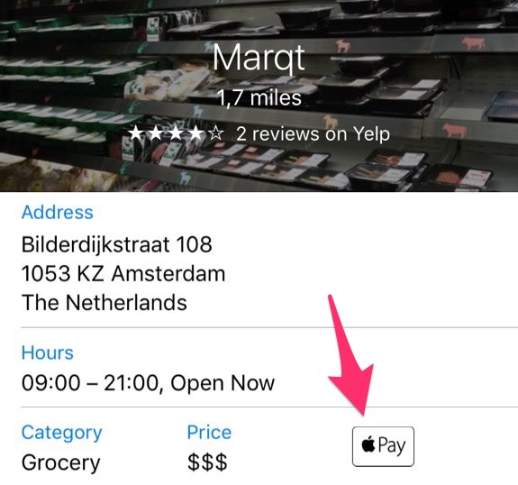 Marqt Apple Pay
