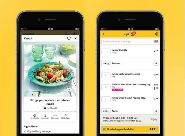 Jumbo app voegt streepjescodescanner toe