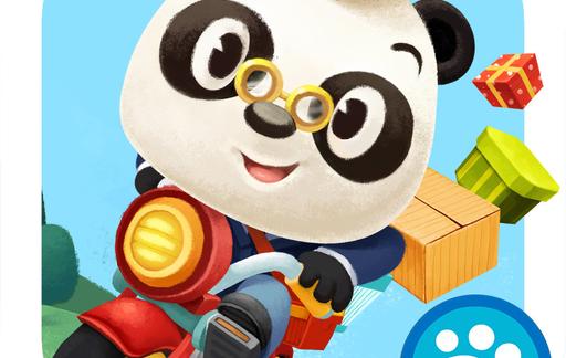 Dr. Panda's Postbode-icoon.