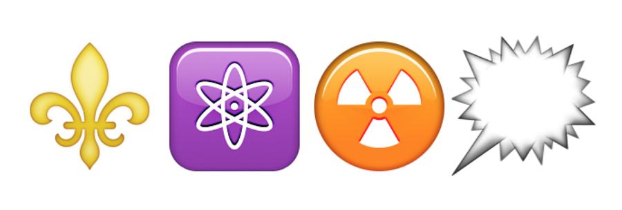 Emoji-Symbolen