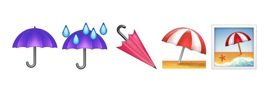 Emoji-Paraplu