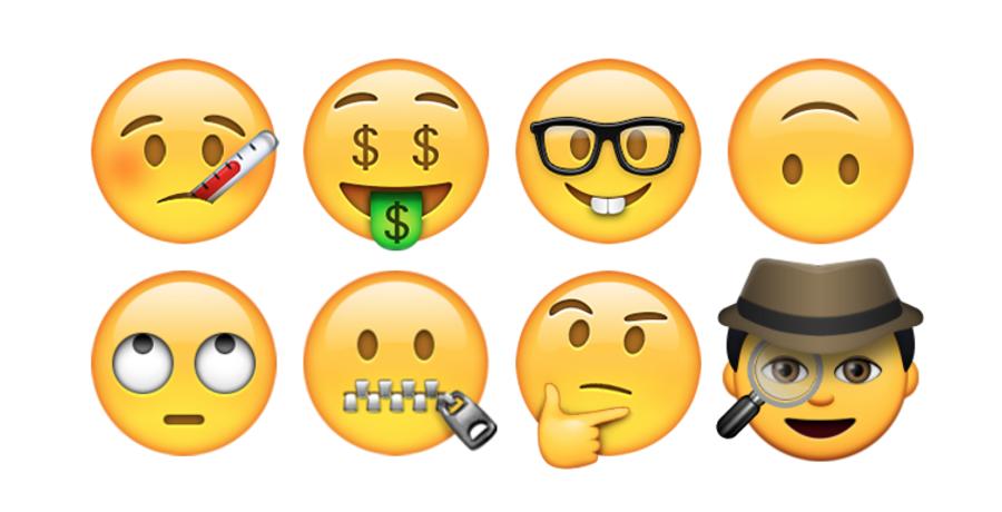 Emoji-Gezicht