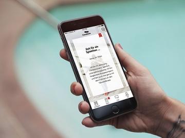 Candidate app voor iPhone