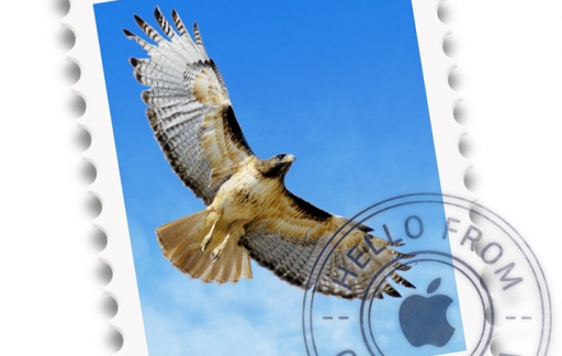 Mail-icoon van OS X.