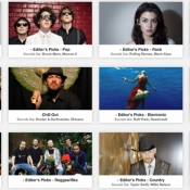 Met Earbits luister je gratis naar nieuwe muziek.
