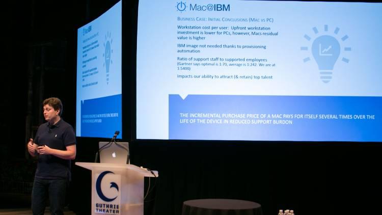 Mac-gebruikers bij IBM vragen om minder support.
