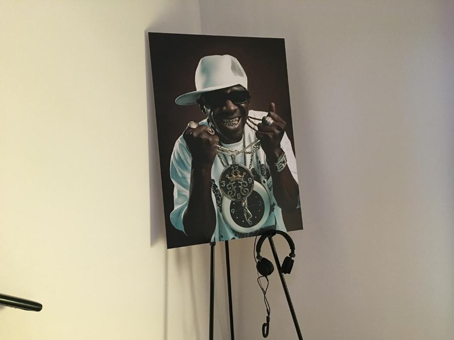 Voorbeeldfoto iPhone 6s rapper