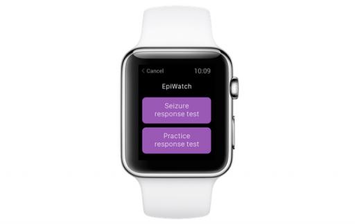 EpiWatch werkt nauw samen met de sensoren in de Apple Watch.