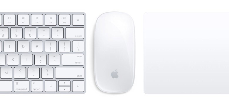 Magic Mouse Trackpad en Keyboard