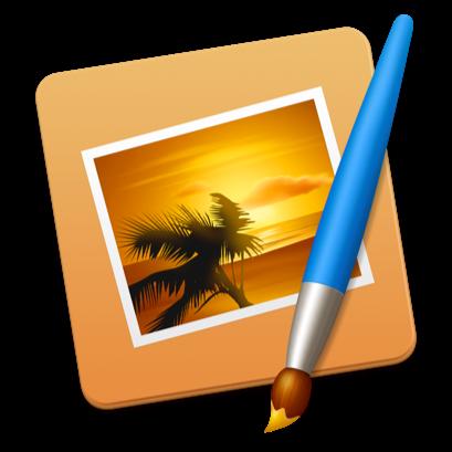 Pixelmator-icoon voor de Mac.