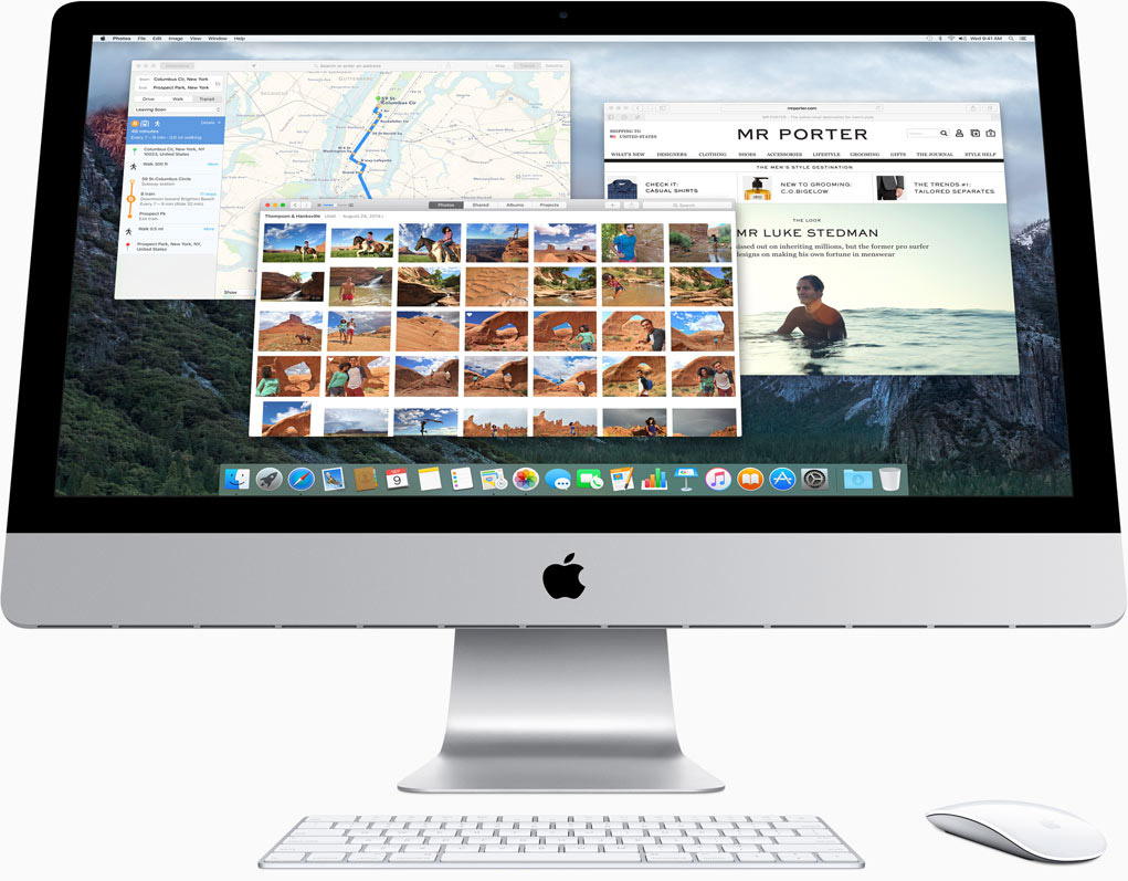 iMac OS X El Capitan