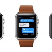Berichten sturen op je Apple Watch.