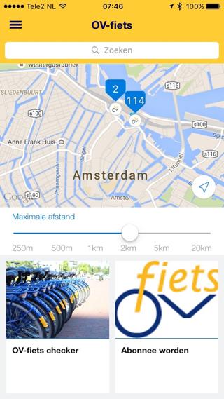 NS Reisplanner-app: regel nu een OV-fiets of NS Zonetaxi