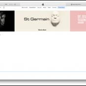 iTunes rare weergave