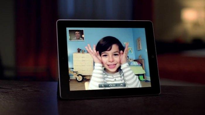 iPad bellen met FaceTime