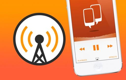 Overcast app voor iPhone
