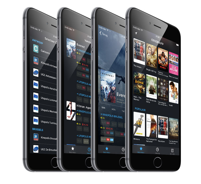 Cinemapp iPhone-app