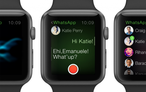 WhatsApp voor Apple Watch