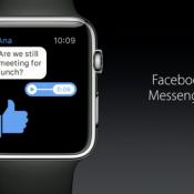 Facebook Messenger nu beschikbaar op Apple Watch