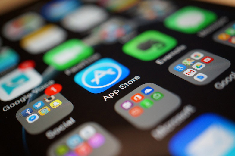 App Store close-up