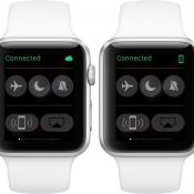 Apple Watch laat zien dat hij met Wi-Fi verbonden is via Cloud-icoon.