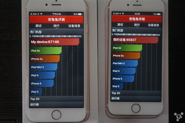 Apple iPhone 6s TSMC vs Samsung A9 processor