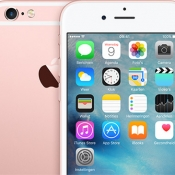 iPhone 6s rosegoud breed
