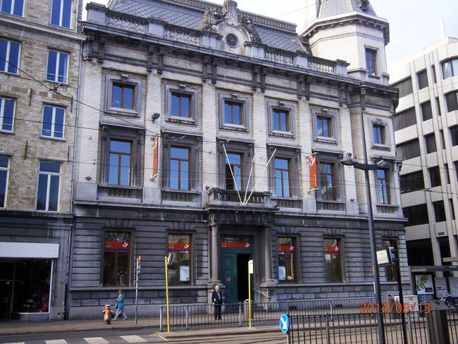 Postgebouw Antwerpen