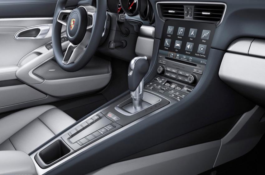 De nieuwe Porsche krijgt Apple CarPlay, maar geen Android Auto.