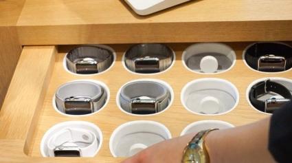 Apple Watch uitstalling
