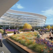 Futuristisch Apple-kantoor in Sunnyvale