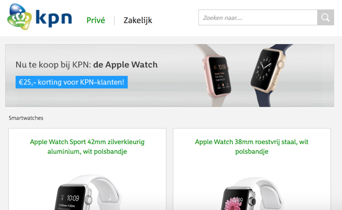 KPN Apple Watch