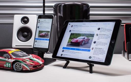 Tweetoot 4 voor iPhone en iPad.