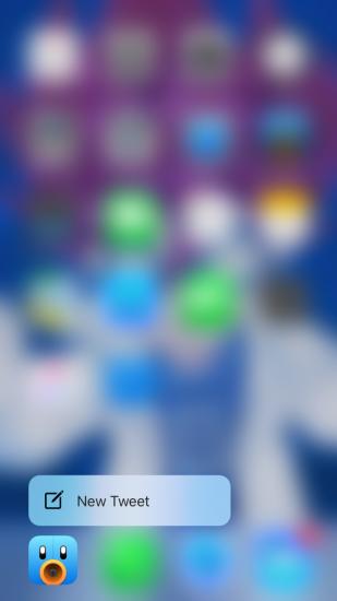 Tweetbot 4 met ondersteuning voor 3D Touch.