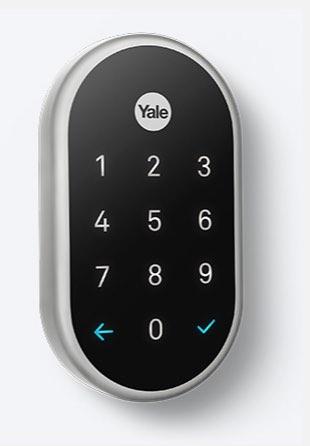 Yale Linus deurslot met Nest-integratie.