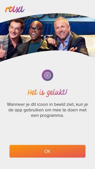 RTL XL Second Screen-ervaring.