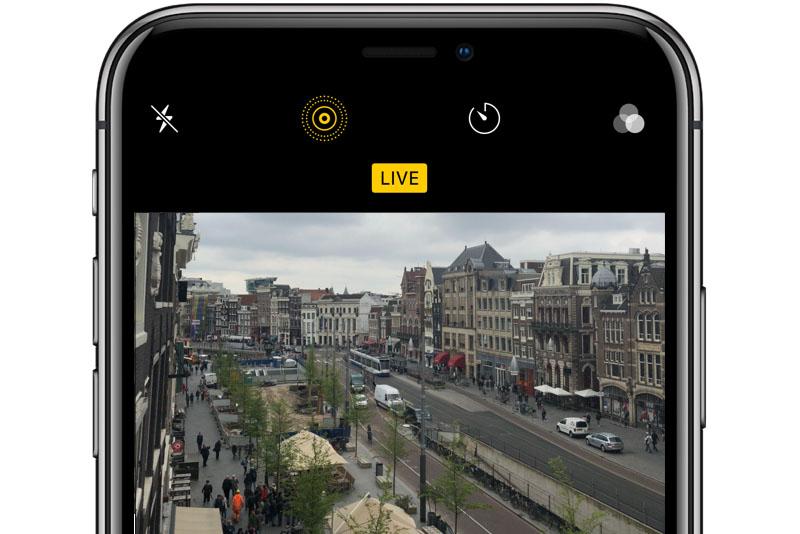 Live Photos gebruiken