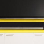 Sonos Playbar onder televisie
