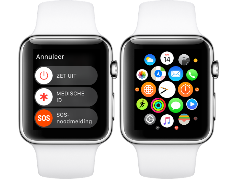 Apple Watch: apps gedwongen afsluiten (force quit)
