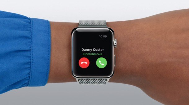 Apple Watch telefoongesprek