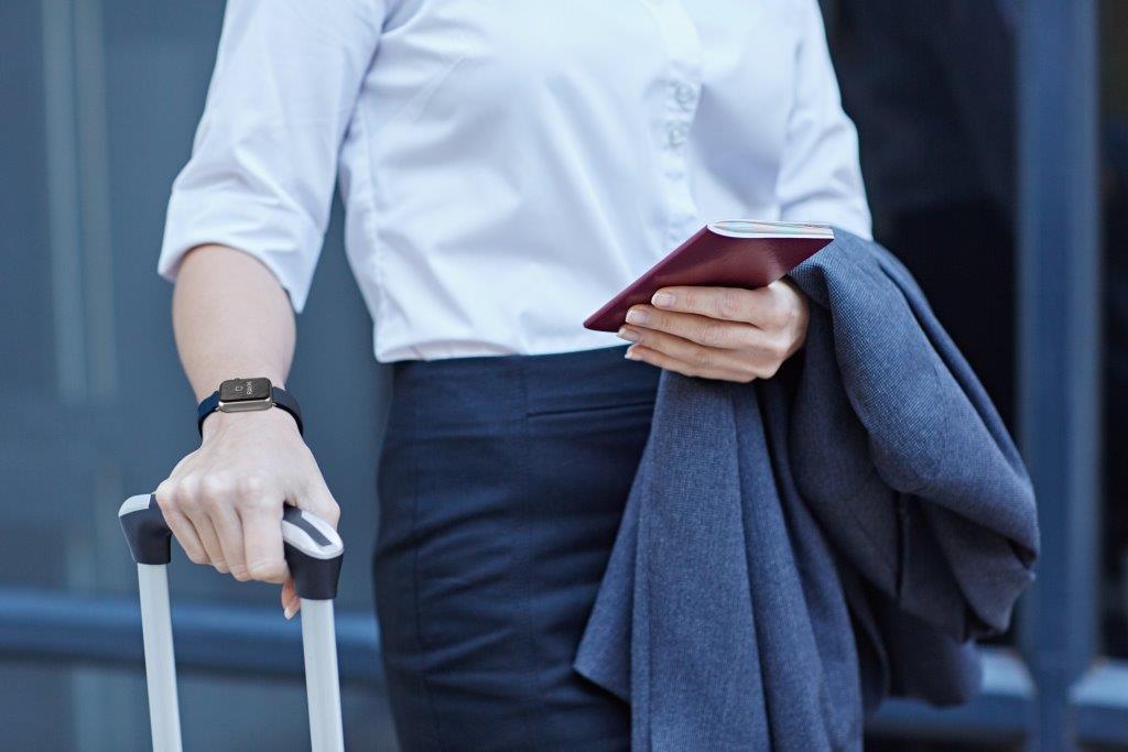 Rakhi horlogebandje voor noodgevallen